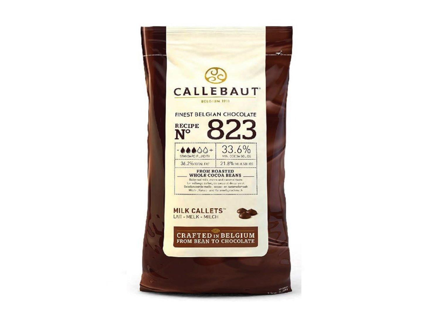 Ciocolata cu lapte 33,6% 10 kg Callebaut