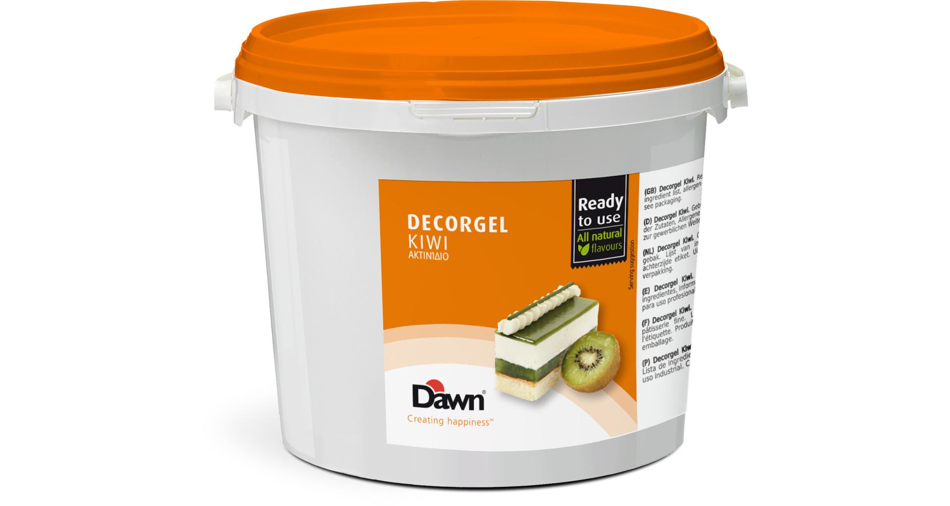 Glazura kiwi Decorgel 3 kg DAWN
