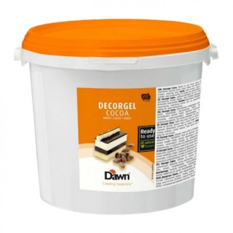 Glazura cacao Decorgel 3 kg DAWN