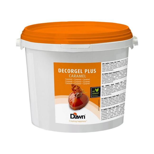 Glazura caramel Decorgel Dawn 3 kg