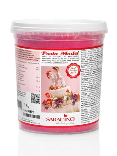 Pasta de modelaj  fucsia 1 kg DEC037K1_SARACINO