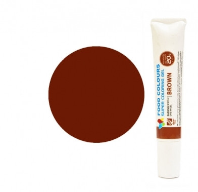 Colorant alimentar in gel  cafeniu 20g WSG-T11 FC