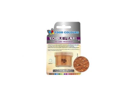 Colorant pudra perlat solubil – culoarea cuprului 4g Р020 FC
