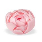 Bujor din zahar mare roz 056203 PJT set 12 buc