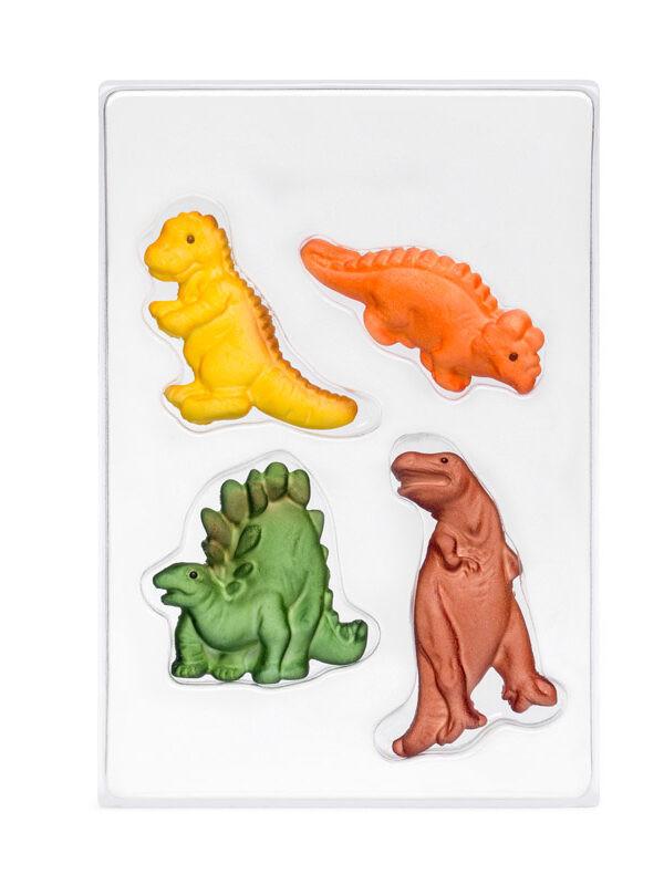 Decoratiune din zahar Dinozauri C-1799 PJT, set 4 buc