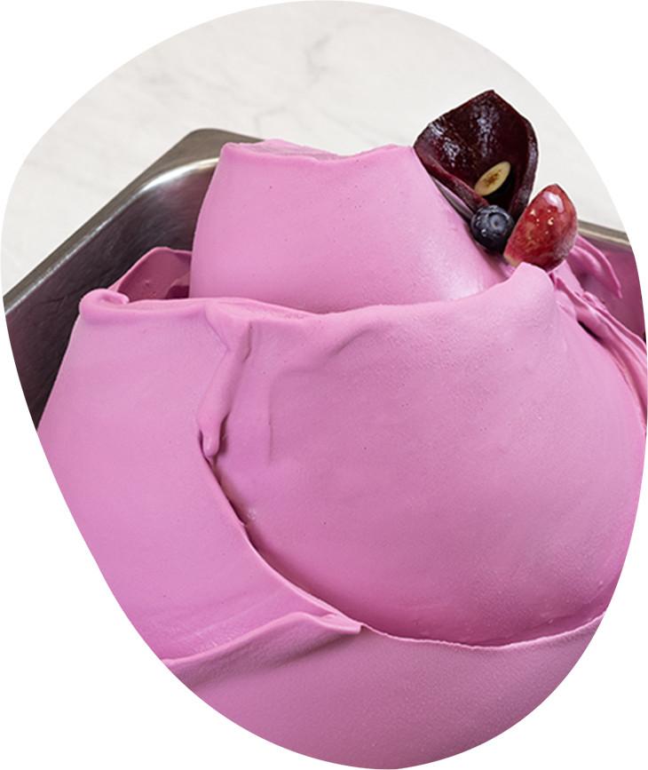 Mix pentru inghetata Kefir Purple Bomb 1kg 127601 LGL