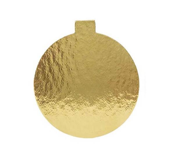 Platou auriu rotund din carton prajituri D 4 cm 3CA2300041_BND