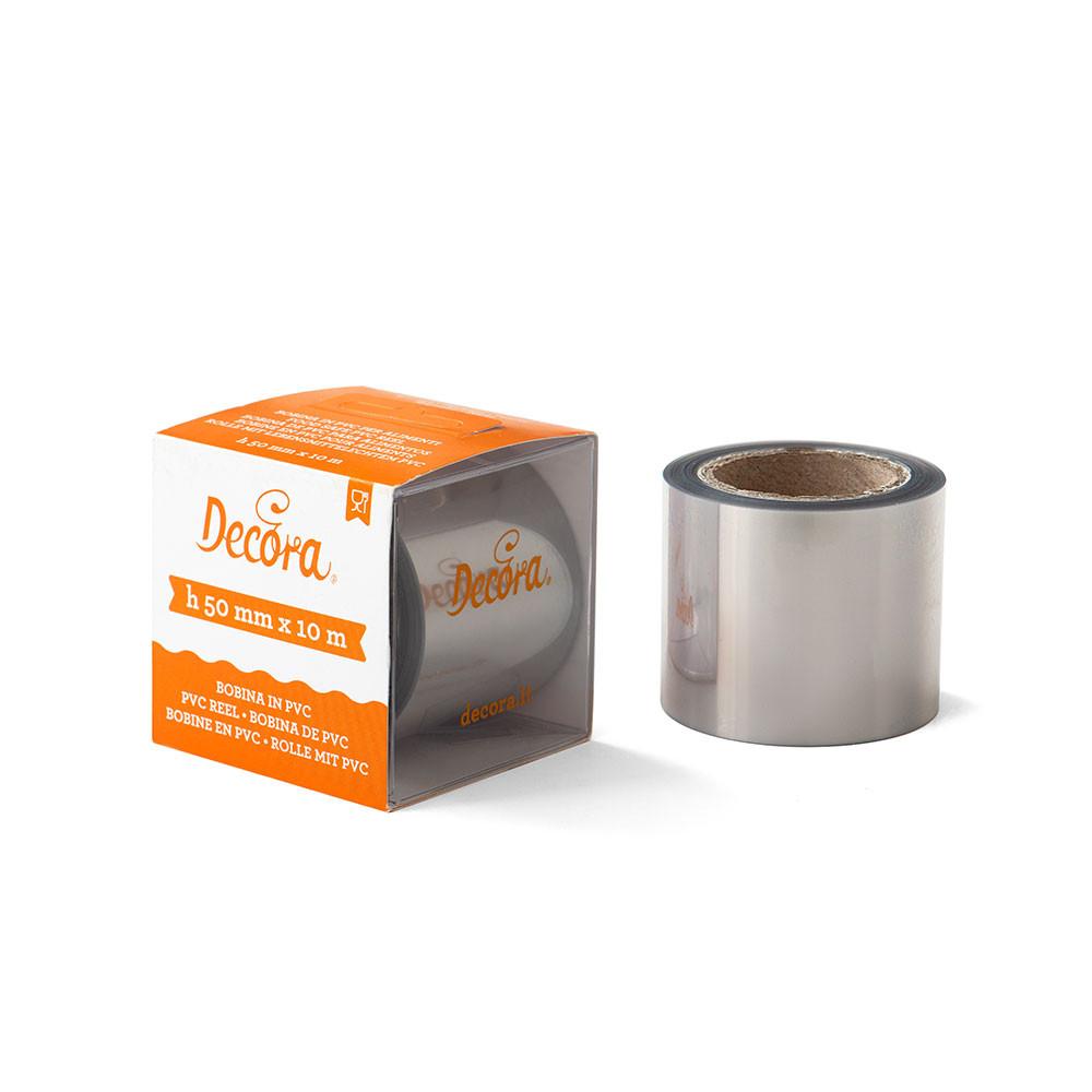 Banda Acetofan Latime 5 cm, 80 microni, rola 10 metri 160718 DER