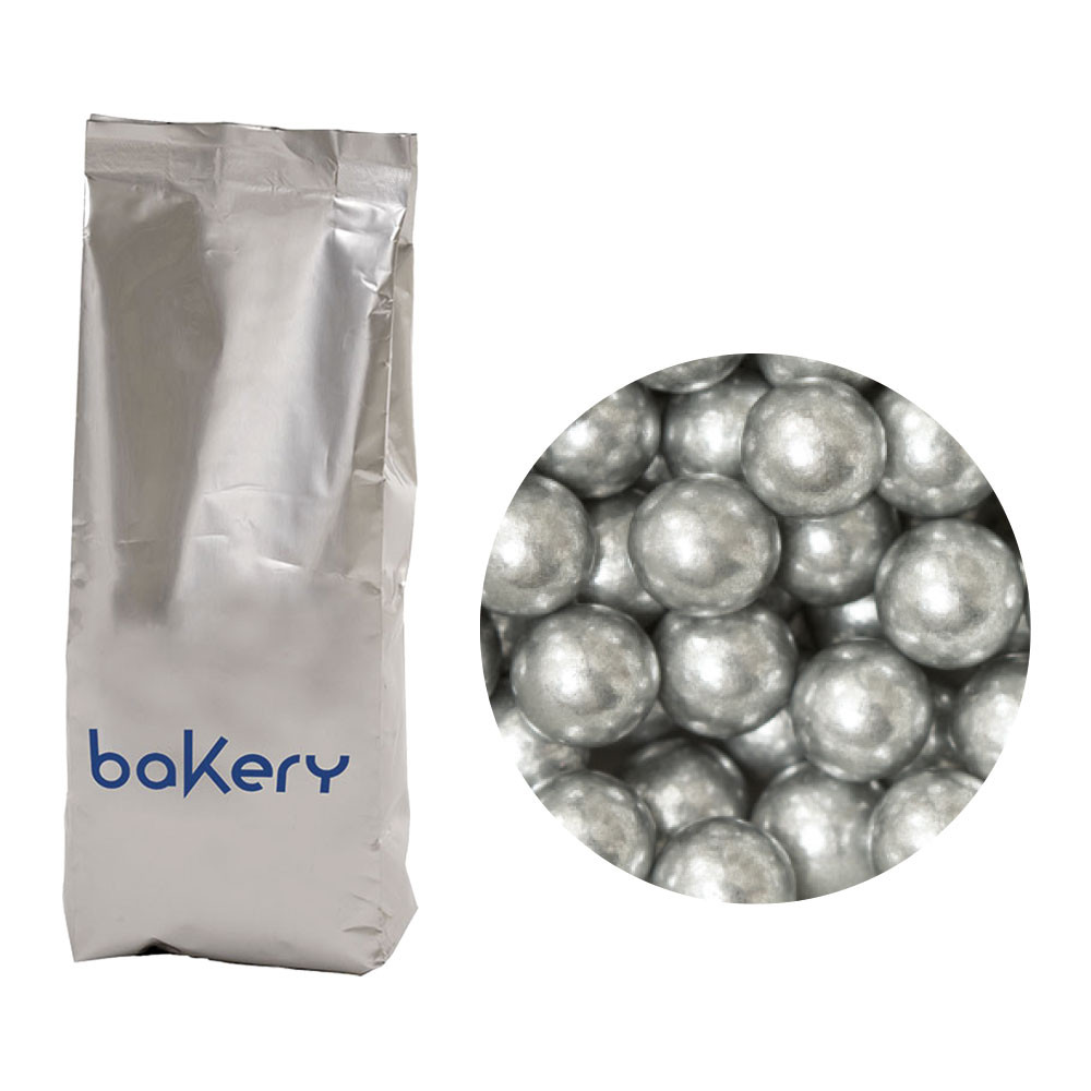 Perle mari zahar argintii 8 mm 1 kg 5081141 DER