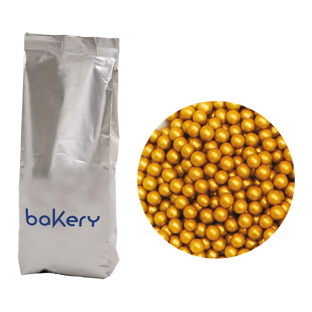 Perle mari zahar aurii 4 mm 1 kg 5081111 DER