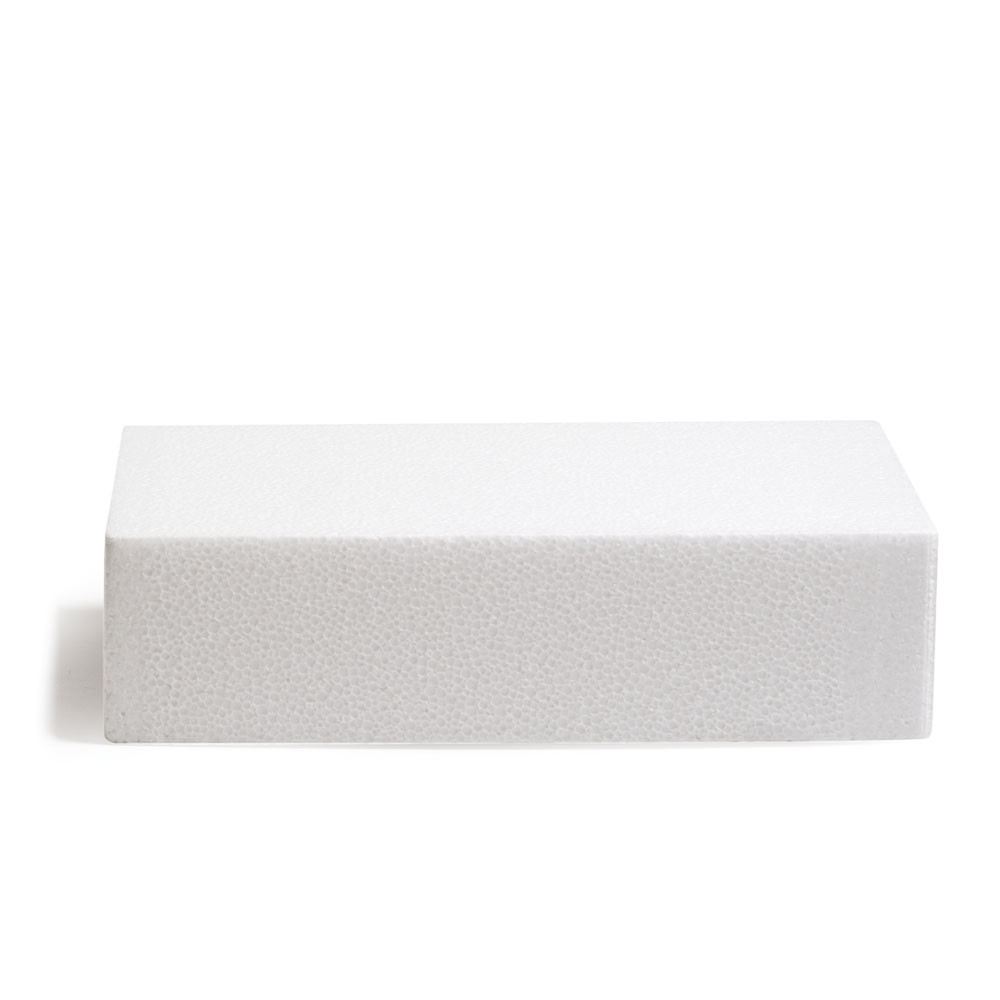 Macheta polisteren tort patrata 30x30x7,5H cm 174027 DER