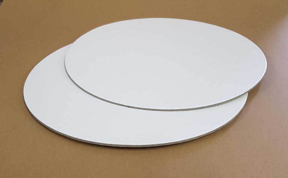 Disc gros tort 2 fete  ALB/KRAFT Ø 20 cm 3 mm TRK