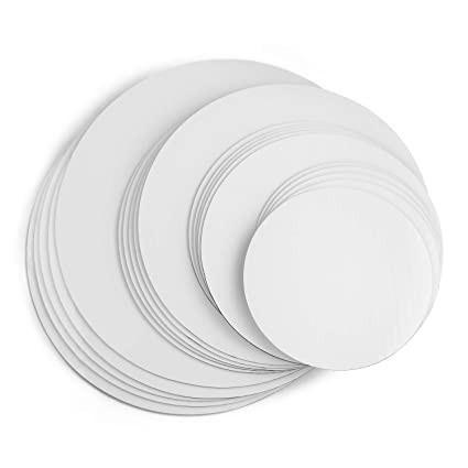 Disc gros tort 2 fete ALB/KRAFT Ø 25 cm 3 mm TRK