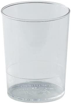 Pahare din plastic 170 ml (set 100buc) PMOTO004