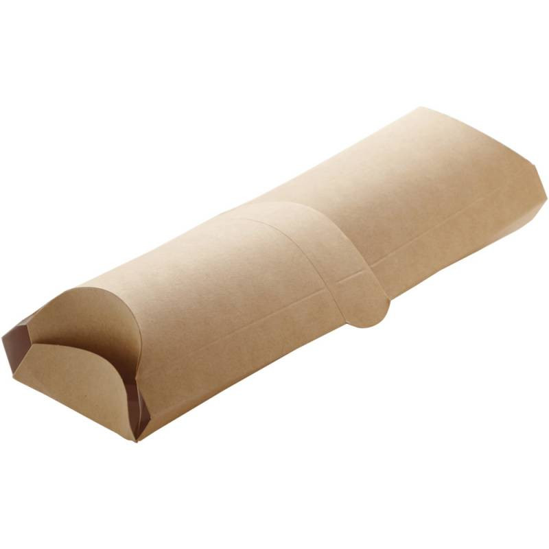 Cutie  tortilla wrap 20x7x5,5cm carton maro 50 buc