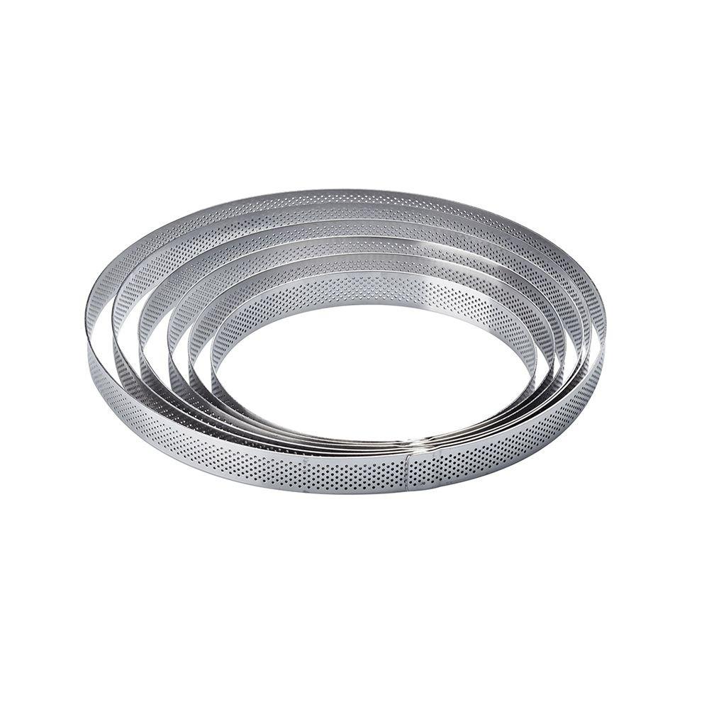 Rama microforata  rotunda tarte Ø 110 x h 20 mm Pavoni