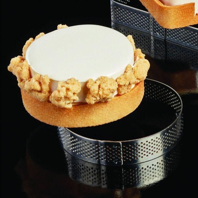 Rama microforata rotunda tarte   Ø 190 x h 35 mm Pavoni