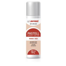 Spray alimentar rosu pastel 250 ml Pavoni