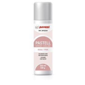 Spray alimentar roz pastel 250 ml Pavoni