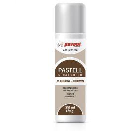 Spray alimentar cafeniu pastel 250 ml Pavoni