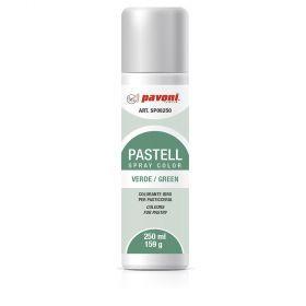 Spray alimentar verde pastel 250 ml Pavoni