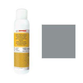 Spray alimentar argintiu inchis metalizat 150 ml Pavoni