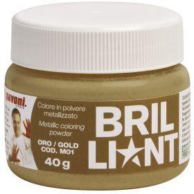Colorant alimentar pudra auriu metalizat 40 g Pavoni