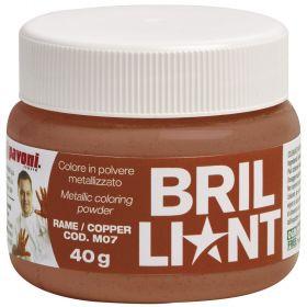 Colorant alimentar pudra cupru  metalizat 40 g  Pavoni