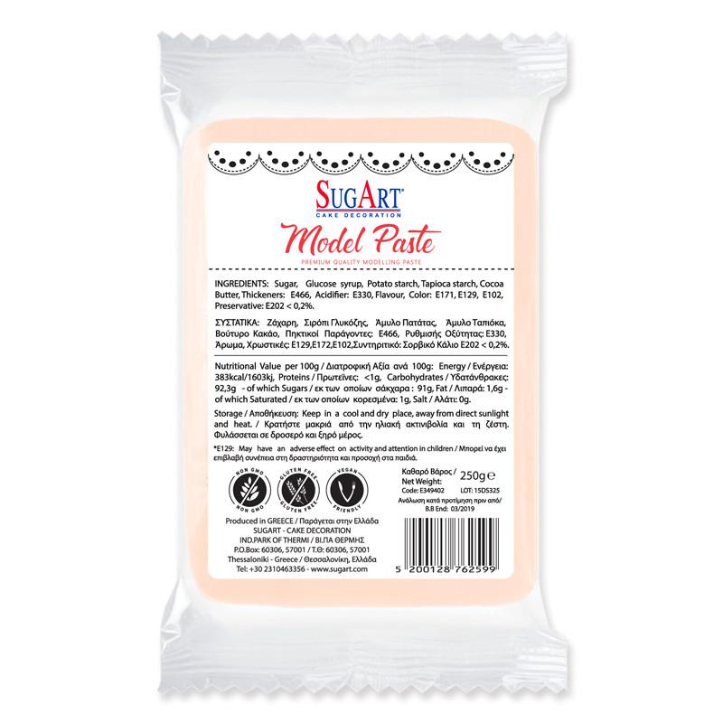 Pasta de zahar culoarea pielii pentru figurine Sugart 250 g