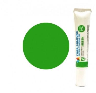 Colorant alimentar in gel 20g verde WSG-T15 FC