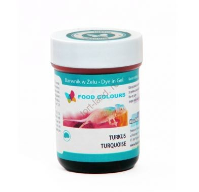 Colorant alimentar in gel  turcoaz 35g WSG-066 FC