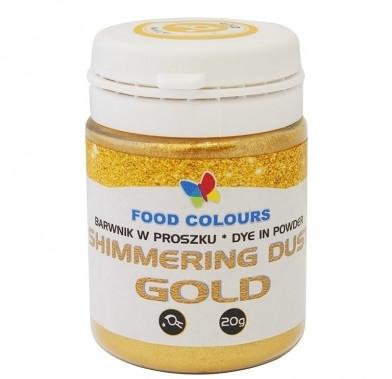 Colorant alimentar 20g auriu WS-P-105/WS-P-155  FC