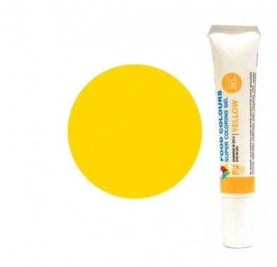 Colorant alimentar in gel galben 20g WSG-T09 FC