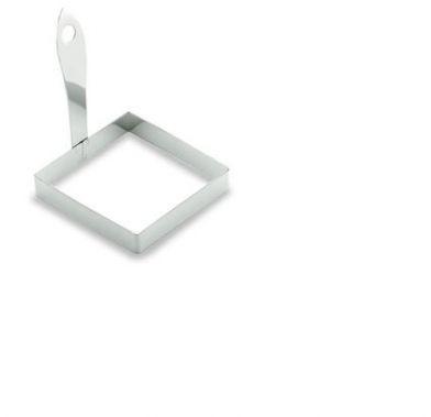 Forma patrata inox  pentru sandwich-oua 8,5x8,5 cm 68006_LAC