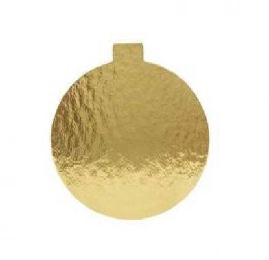 Platou auriu rotund din carton prajituri D 10 cm 3CA2300101_BND