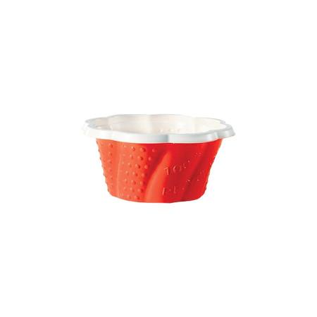 Pahare Catering p/u  inghetata Joy Red 170ml 048102040   ACS  50 buc