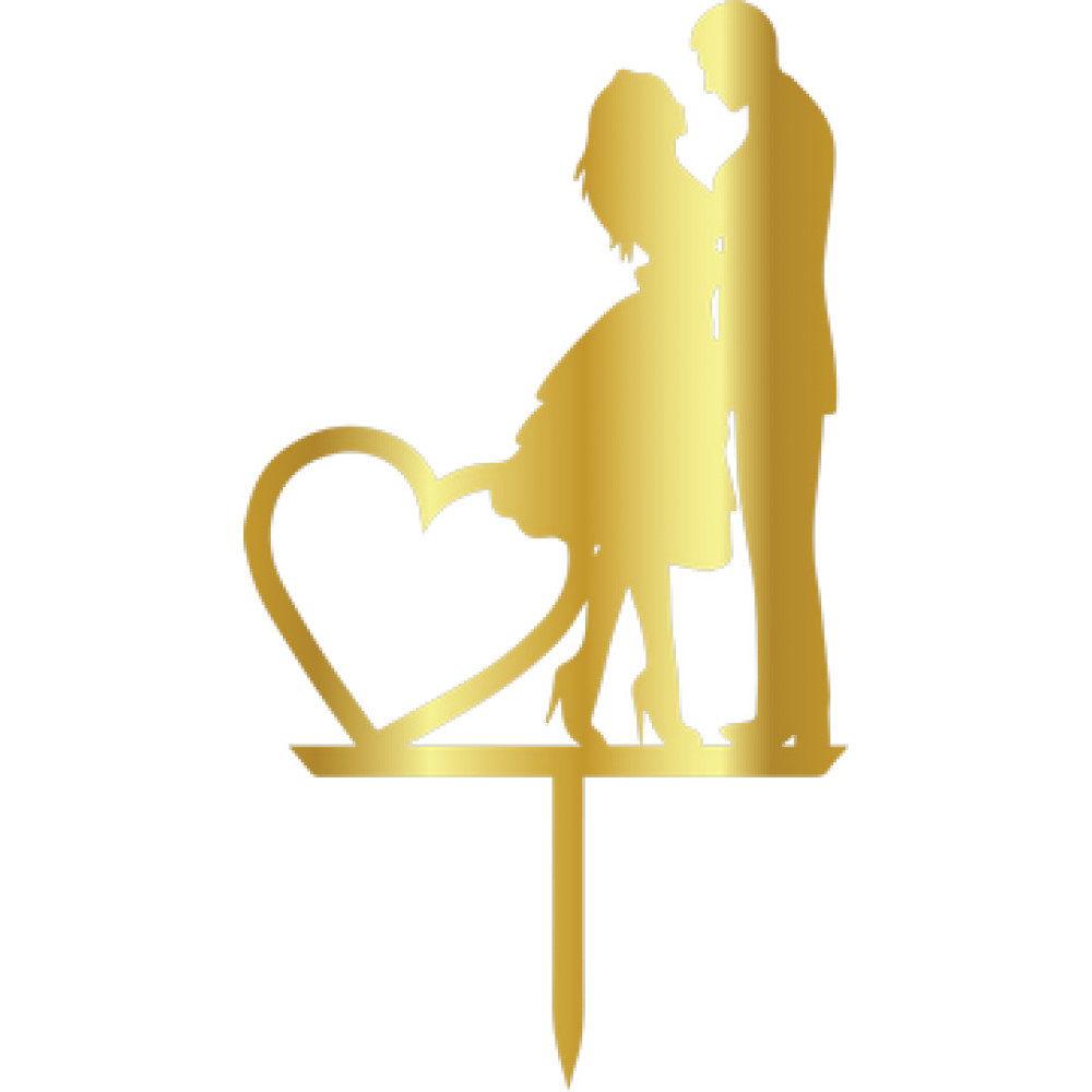 Topper - Woman&Man Heart 110x200 mm 14022 CSL