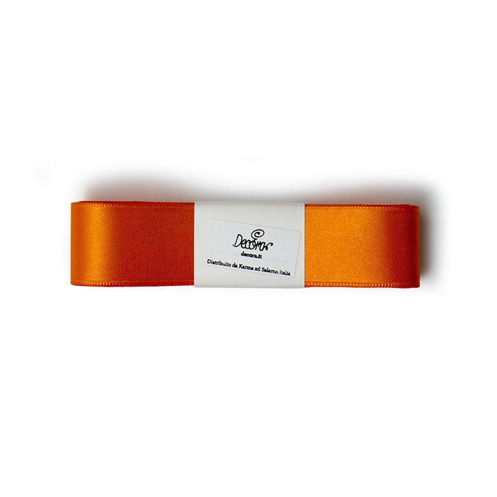 Set panglici satin 25mmx3mt orange 0314947 DER