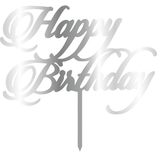 Topper - Happy Birthday 155x165 mm 14041 CSL