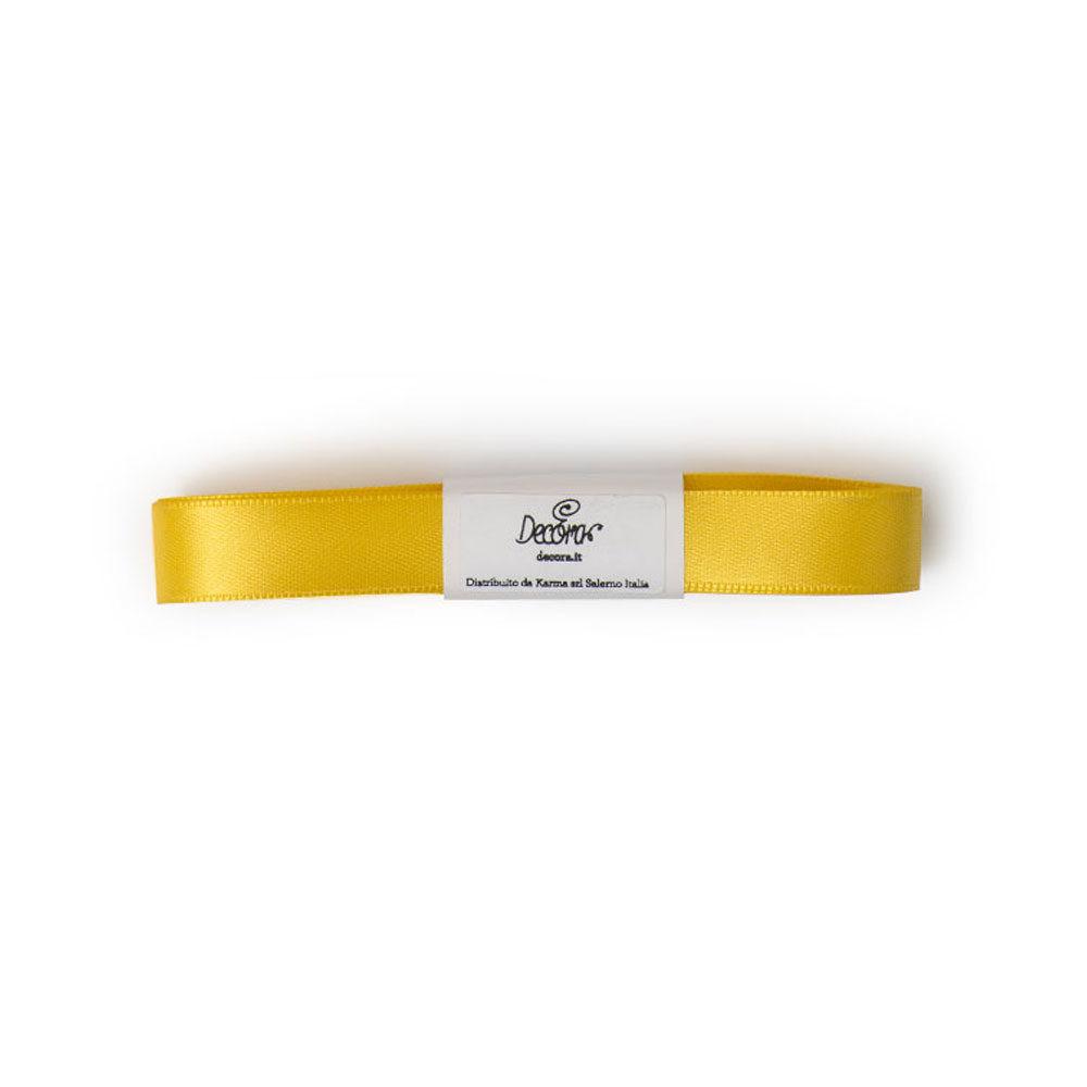Set panglici satin 15mmx5mt yellow 0314906 DER