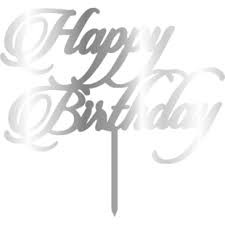 Topper - Happy Birthday 155x165 mm 14439 CSL