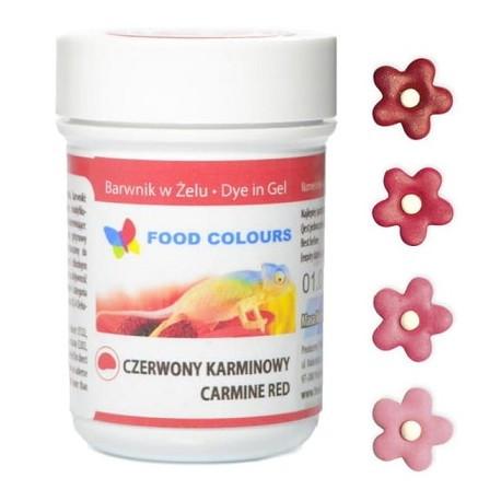 Colorant alimentar in gel rosu-carmin 35g WSG-032 FC