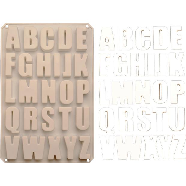 Forma din silicon Alphabet Clasic 340x225 mm 52036 CSL