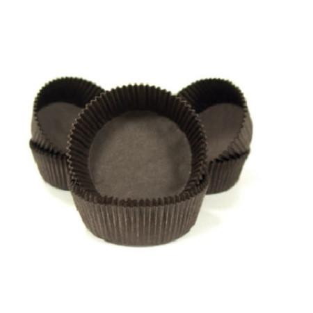 Forma din hartie muffin CAFENIU 50gr. art.4B 35x71 mm h 16,5mm  2000 buc 1BC2001PR4B01_BND