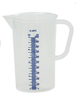 Cana gradata din plastic 1l 0123402 DER