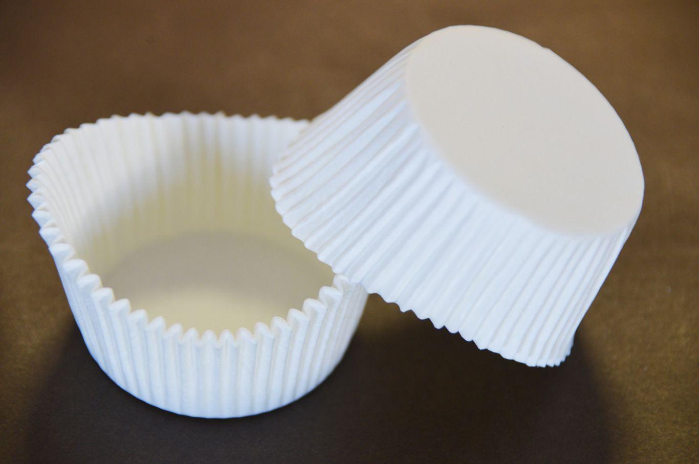 Forma din hartie muffin ALB 55gr. art.8 55x110 mm h 27,5mm  2000 buc 1BC2001PR0800_BND