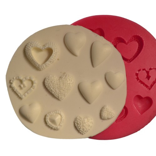 Forma din silicon Small Heart 100x100 mm 32165 CSL