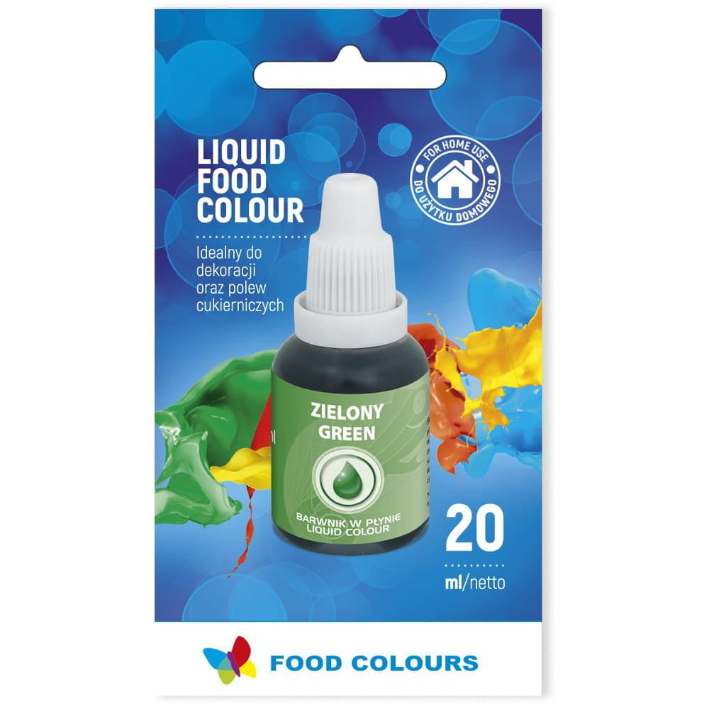 Colorant lichid alimentar 20g verde WS-La17  FC