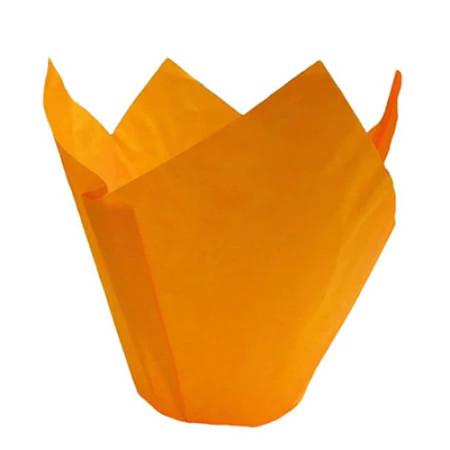 Forma din hartie lalea orange d 35  h 95 mm 1800 buc 1TC220001O_BND