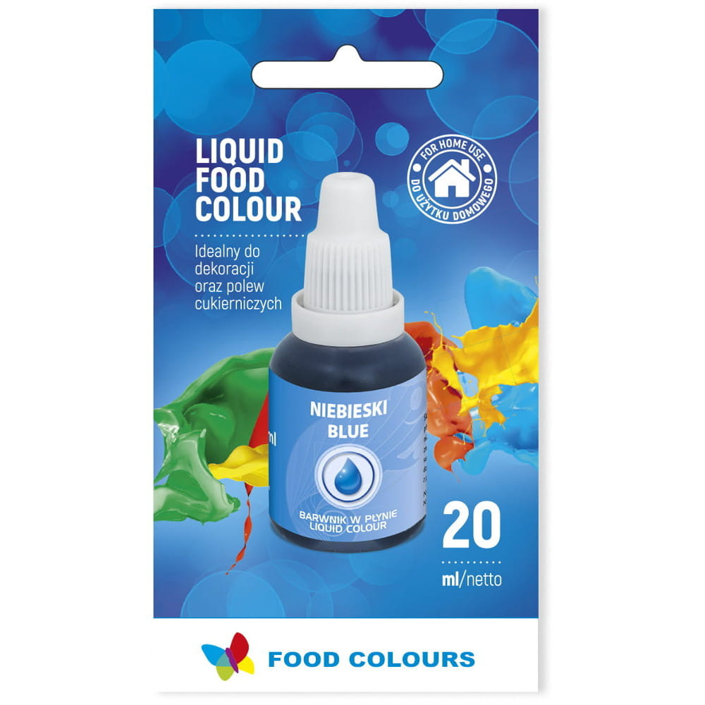Colorant lichid alimentar 20g albastru WS-La14  FC